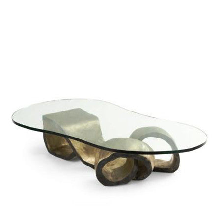 White On White Dallas Coffee Table