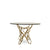 Web Brass Dining Table