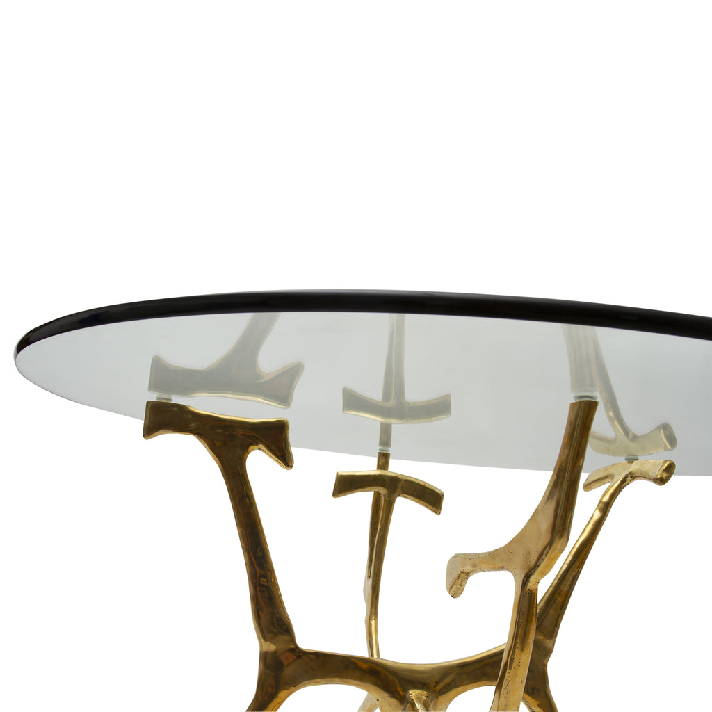 Newport Brass Dining Table
