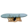 White On White Escargot Coffee Table