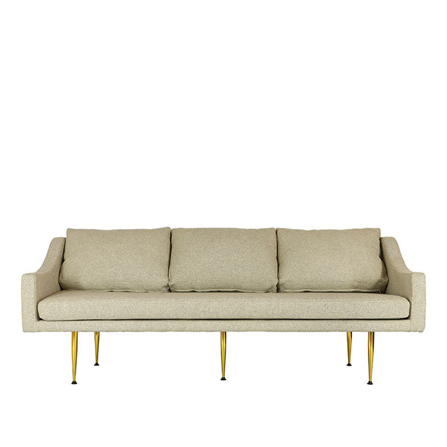 beige fabric modern sofa