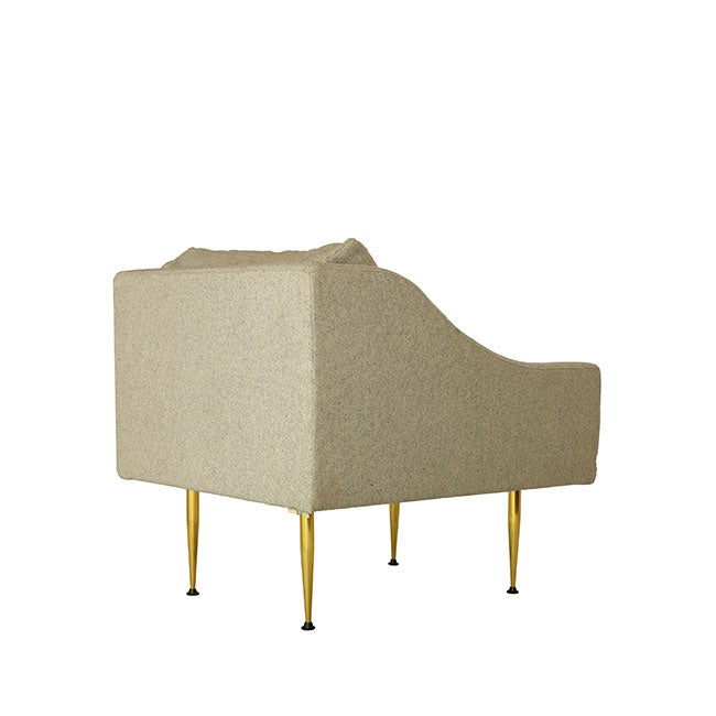 beige armchair for lounge