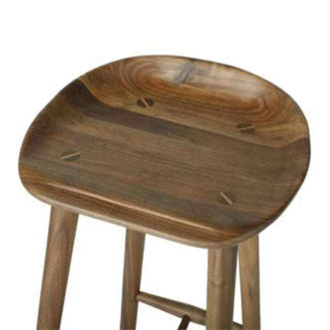 walnut counter stool
