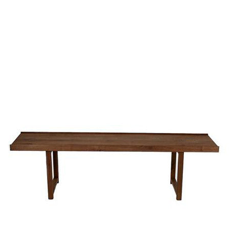 walnut top coffee table