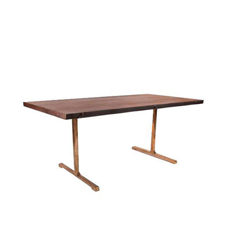 rectangle communal dining table
