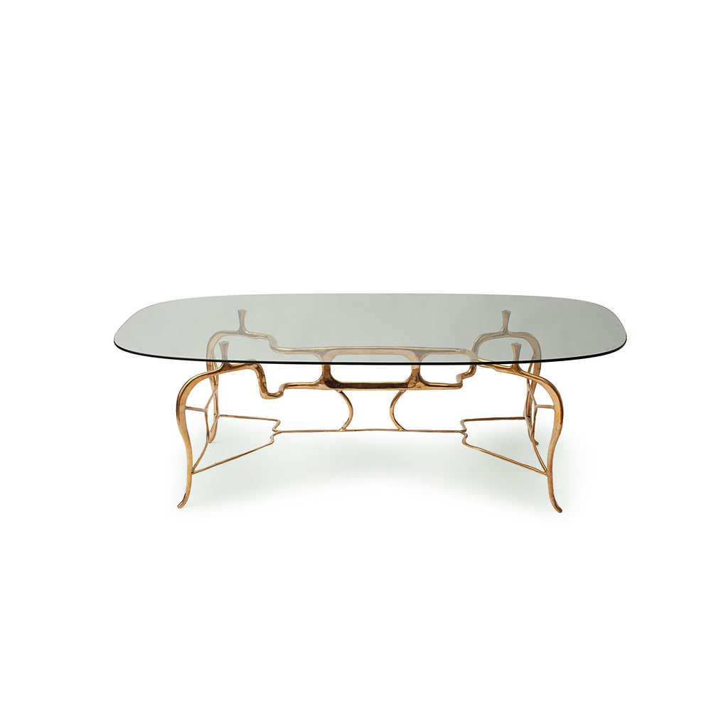 Acme Brass Dining Table