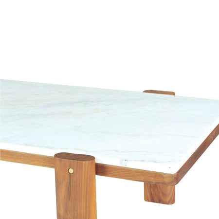 marble top rectangle coffee table