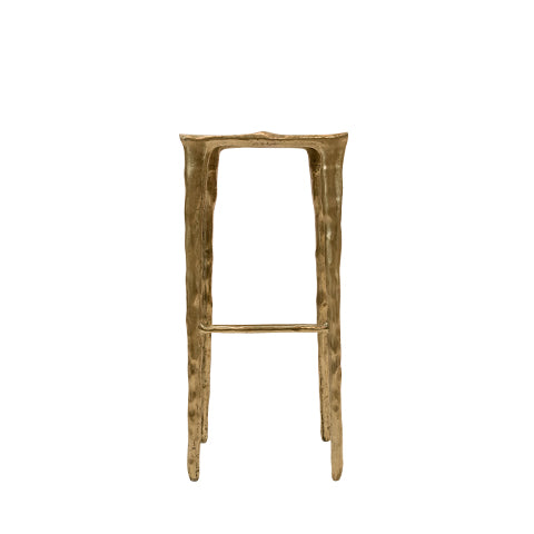 brass bar stool