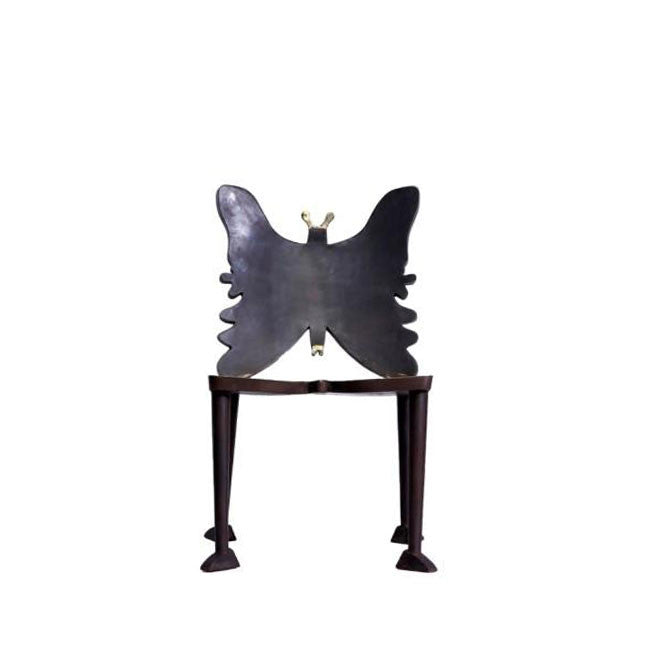 butterfly shaped dining chair
