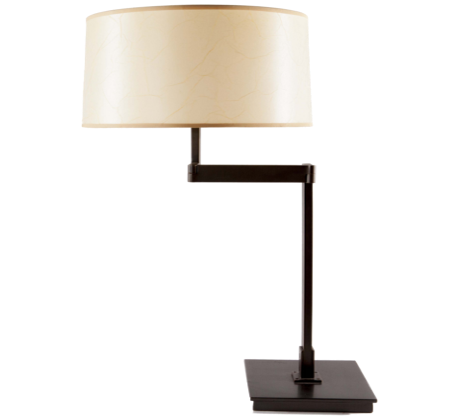 Park Avenue Mid Century Modern Table Lamp White On White Furniture