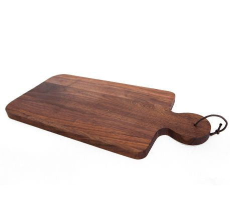 solid black walnut chopping board