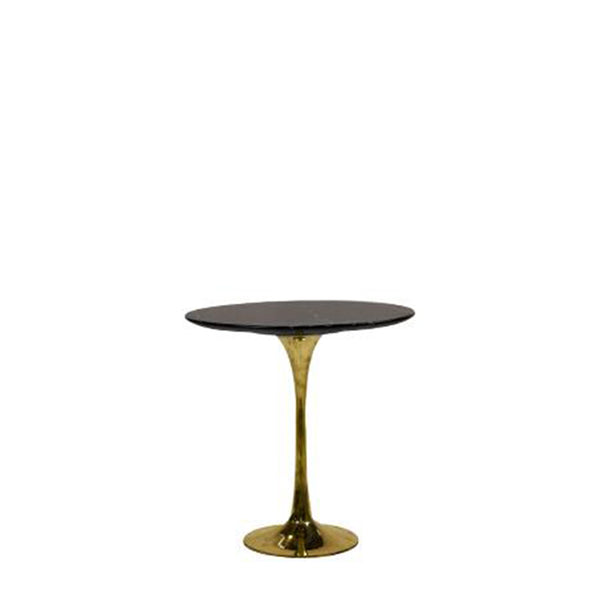 Lucia Marble Round Side Table