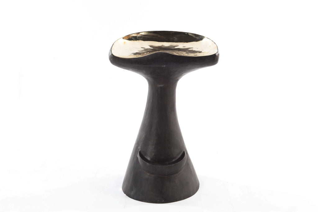 Kanga Bronze Bar Stool  -  Chair