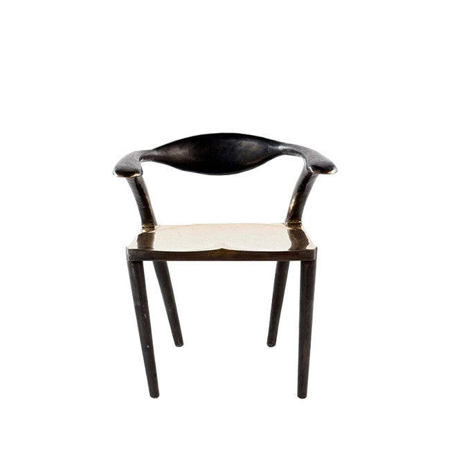 bronze dining chair