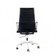 Leather office chair, high back office chair with adjustable height