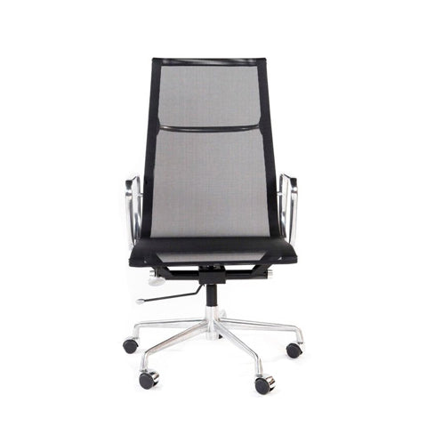 Office Chair High Back Black Mesh