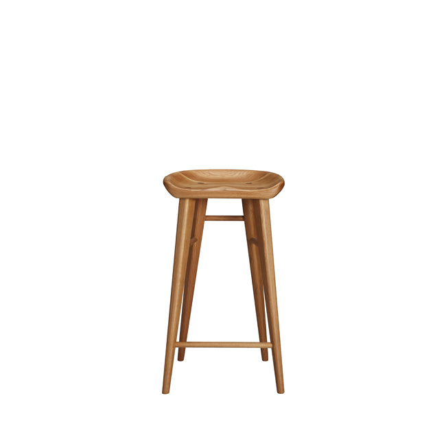 Taburet A Bar Stool  sc 1 st  White on White Furniture & Taburet - Walnut White Oak Bar Stool Solid Wood Bar Stool islam-shia.org