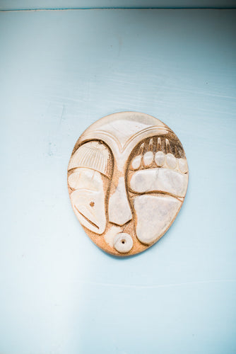 Bear Paw Salmon Mask
