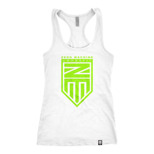 Racer Back WHITEOUT Series Tank / Neon Green