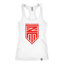Womens Racer Back WHITEOUT Series Tank / Red