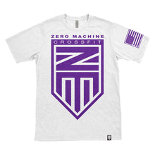 Mens Short Sleeve WHITEOUT Series T-Shirt / Purple