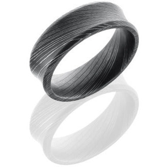 Steel wedding band by Diana Widman Design in Chicago.
