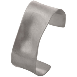silver ribbon cuff by Diana Widman Design in Chicago.