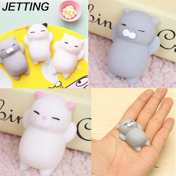 Cute Squishy Cat Squeeze Stress Reliever Toy