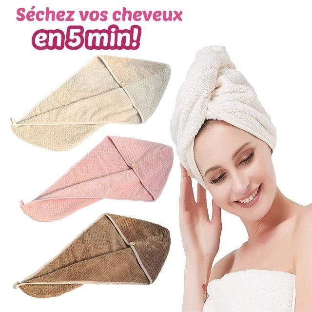 Gadgets d'Eve DRYUP™ : Serviette à Cheveux Ultra-Absorbante