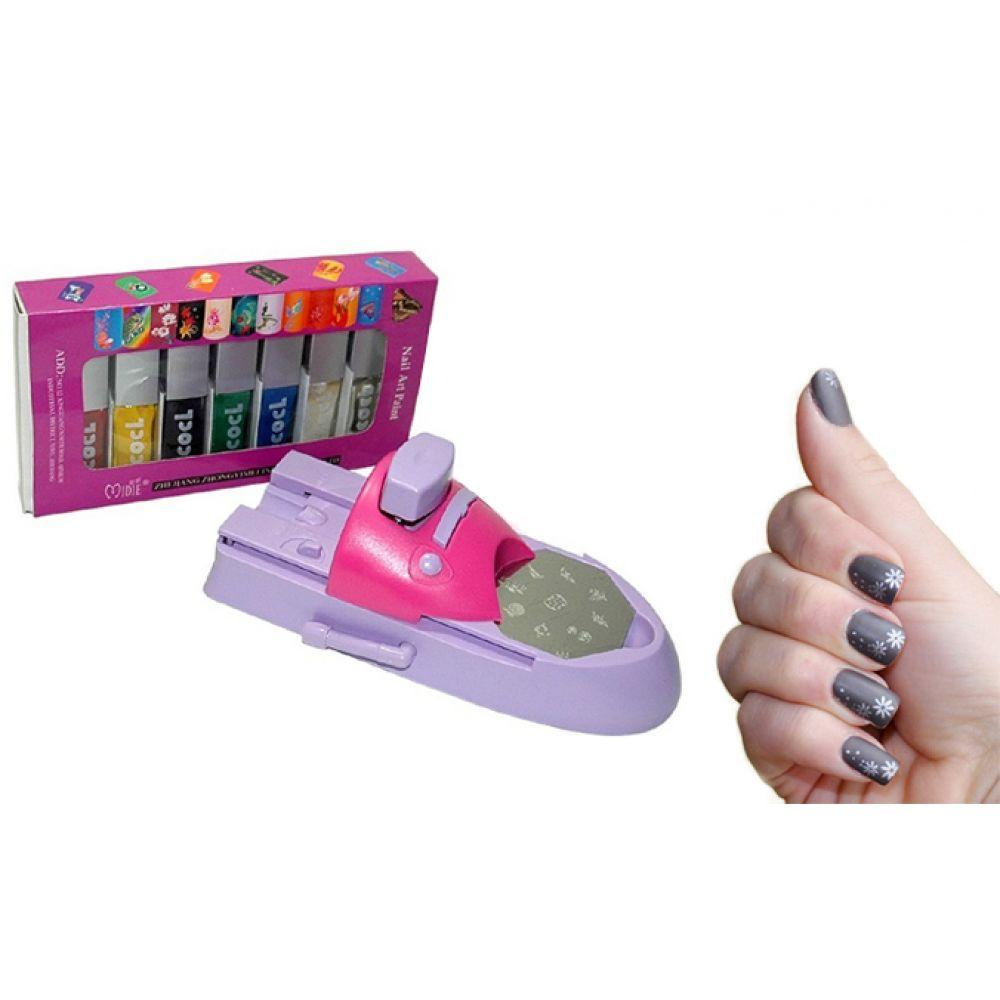 Gadgets d'Eve beauté Nailart  - Kit de stamping, l'art d'ongles