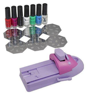 Nailart  - Kit de stamping, l'art d'ongles