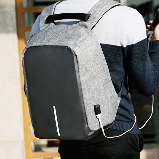 Gadgets d'Eve Sac à Dos Anti-Vol Multi-Compartiments + Sortie USB