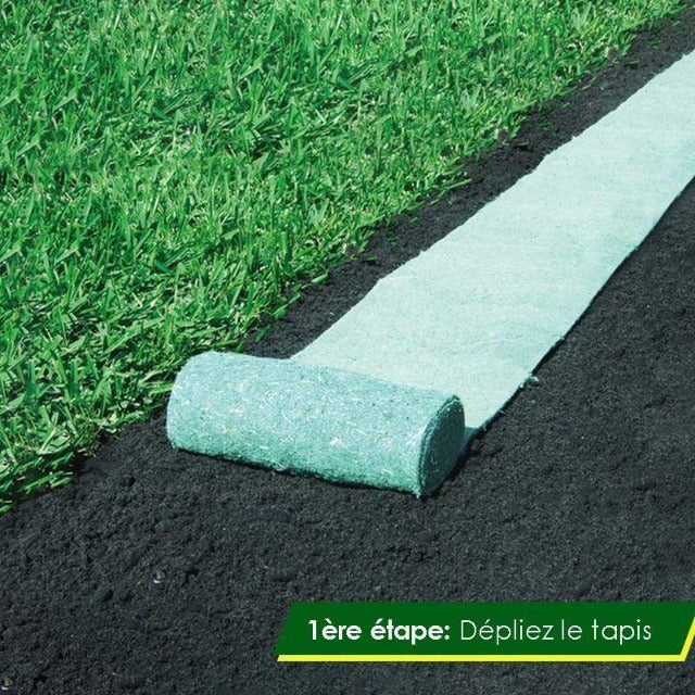BIOMAT™ : Tapis de Graines Biodegradable (3 métres)