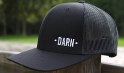 Black DARN hat