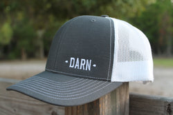 Charcoal Grey Hat