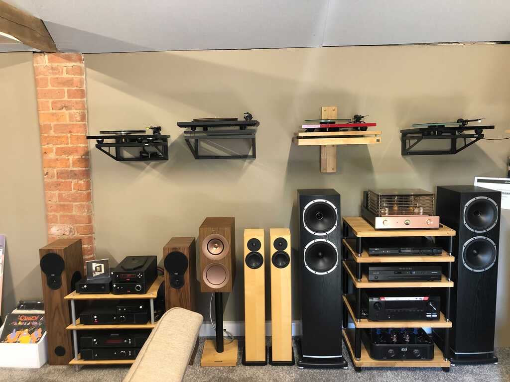 HiFi, Speakers, Turntables, Amplifiers and more inside Expressive Audio's Lincolnshire HiFi Showroom