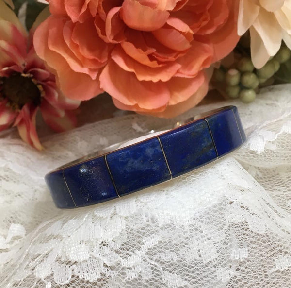 Luxe Lapis bangle