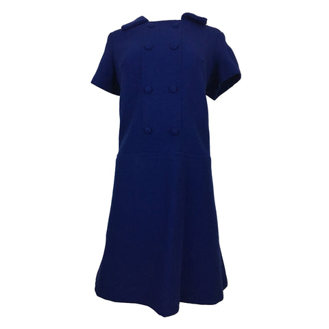 Button Up Blues Dress