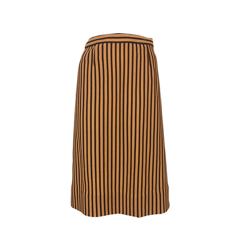 Striped and ready to go skirt