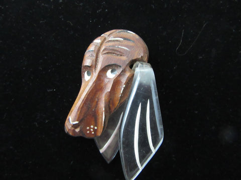 Hound Dog brooch