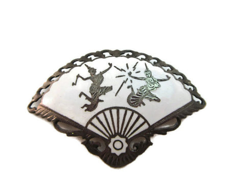 Siam Sterling pin & pendant
