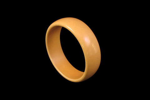 Butterscotch yellow bakelite bangle