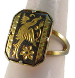 Flight of fancy adjustable ring