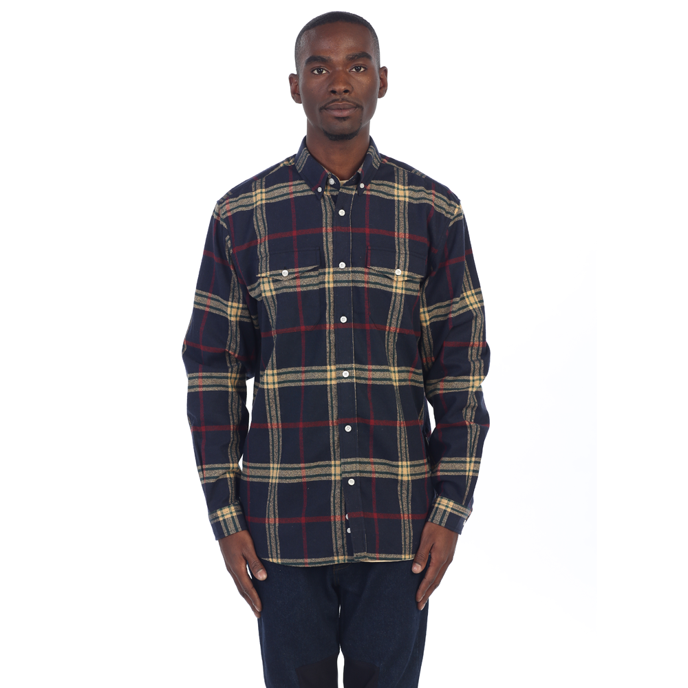 ZIP FLANNEL - Navy