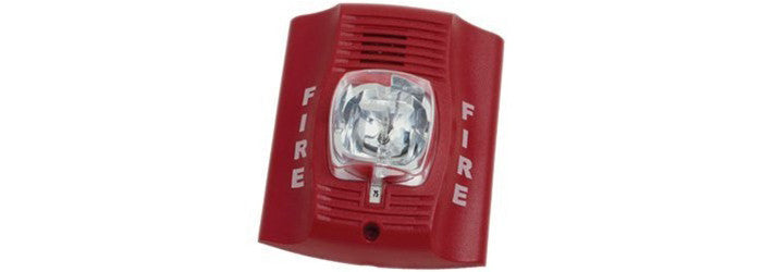 Be alerted from fires in school with this two-wire horn strobe.
