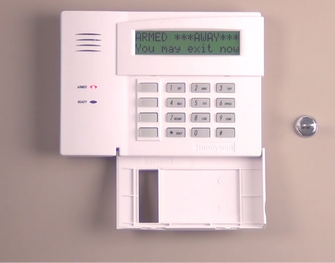a step by step guide to changing a honeywell alarm system code rh alarmsystemstore com Ademco Com Keypad Ademco Vista 10Se