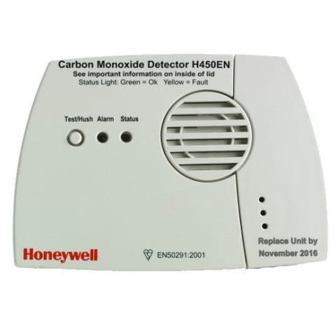 How to Stop a Honeywell Carbon Monoxide Detector from Chirping