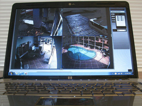 security cam surveillance