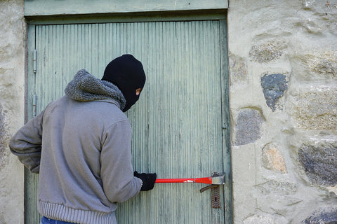 home invasion burglar entrance