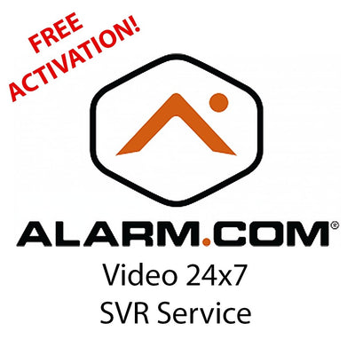 Alarm.com Video 24x7 Stream Server (Annual Plan)